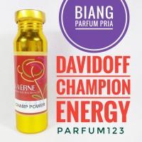 Biang parfum DAVIDOFF CHAMPION ENERGY - champ power 100ml segel