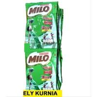 Milo 3in1 1 Renceng isi 10 Sachet | Nestle 3 in 1 Coklat Cokelat Promo