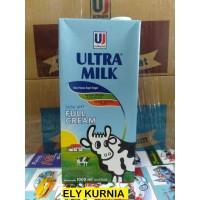 Susu UHT Ultra Full Cream 1 Liter 1 Dus isi 12 / Plain