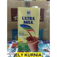 Susu UHT Ultra Coklat 1 liter 1 Dus isi 12