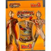 Mainan anak kartu koleksi ULTRAMAN timezone VERSI 3 BARU ORIGINAL