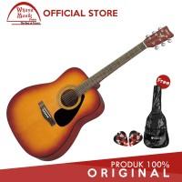 Yamaha Gitar Akustik Folk F-310 F310 F 310 TBS + Softcase & 2 Pick