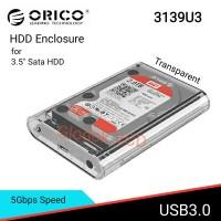 "Orico Hard disk Case / Casing HDD Enclosure 3.5"" Sata USB3.0 3139U3"
