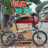 Sepeda Lipat FoldX X9 20sp