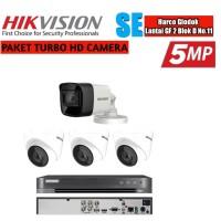 Paket Cctv Hikvision 4 Camera 5 MP Turbo HD Paket Komplit