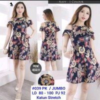 Dress Batik Sabrina / Dress Batik Remaja / Dress Batik Anak Tanggung