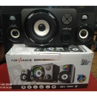 Speaker Aktif Advance DUO-700 Speaker Gaming Colors Pulsating LED