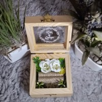 RING BOX/ KOTAK CINCIN/ BOX CINCIN/ RING BEARER