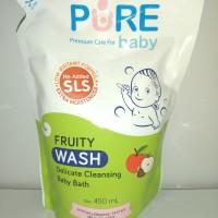 Pure Baby wash fruity 450ml