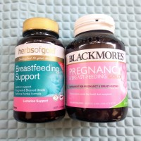 Paket ASI Booster Blackmores Pregnancy dan Herbs of Gold Breastfeeding