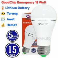 LED Emergency Goodchip 15w (Lampu Ajaib Sentuh Good Chip 15 Watt)