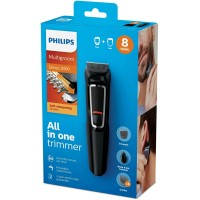 Philips Trimmer Groom MG3730 Cukur 8In1 MG 3730 Self Sharpening Blades