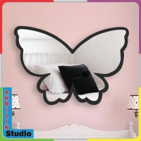 CERMIN DINDING AKRILIK 3D. Dekorasi rumah kamar anak, Butterfly series