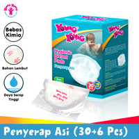 YOUNG YOUNG Penyerap Asi 30 + 6 Pcs Breast Pads IL