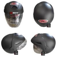 Helm CNP Black Doft CNP05BLACKDOFT / Helm SNI / Helm Half Face / Helm