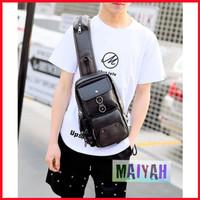 Tas Bahu Pria Korea Opa Shoulder Bag slempang selempang Import Premium