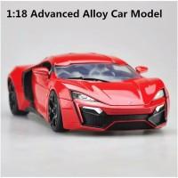 Diecast Mobil JADA 1:18 advanced alloy car model