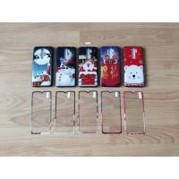 Fuze Case Merry Christmas + Tempered Glass - Xiaomi Redmi Note 8 Pro