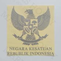 Stiker NKRI Burung Garuda