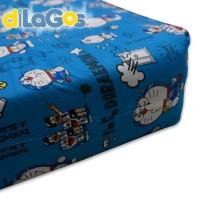 BEST SELLER Sprei resleting sarung kasur busa karakter Doraemon kecil