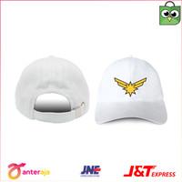 NEW! Topi Pria Baseball Cap Captain Marvel Logo Premium Distro BIE