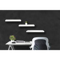 [Decorunic] Floating Shelf - Rak Dinding Minimalis ukuran 40,40,60 cm