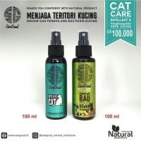 Paket Training Kucing, Cat Repellent & Penghilang Bau Pasir Kucing