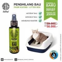 Paket Training Kucing: Cat Repellent Dan Penghilang Bau Pasir Kucing