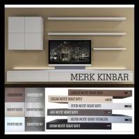 60X10X4Cm Rak Dinding/Ambalan/Melayang/Floating Shelf Merk Kinbar A400