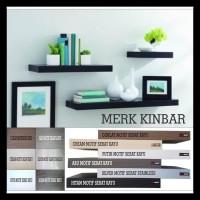 100X20X4Cm Rak Dinding/Ambalan/Melayang/Floating Shelf Merk Kinbara397