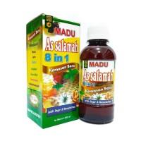 Madu 8in1 Assalamah Obat herbal Flu Batuk Pilek Demam Penambah Stamina