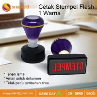 Cetak Stempel Flash| Stample Flash 1 Warna