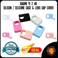 Silicon Silicone Silikon Case Xiaomi Yi 2 4K Action Camera TT