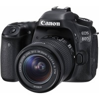 Canon EOS 80D Kit 18 55 IS STM Wifi Resmi PT Datascrip Kamera DSLR