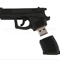 Flashdisk 8Gb Unik Lucu Bentuk Pistol