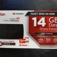 Modem Mifi Wifi Router 4G UNLOCK Huawei E5673 Free Telkomsel Kuota14