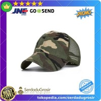 Evrfelan Topi Baseball Trucker Cap Hat Army Camouflage - S8R Bagus