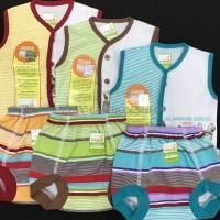 Setelan baju bayi Newborn Kaos Putung velvet junior ladanza la danza