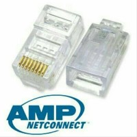 CONNECTOR RJ45 UTP AMP CONNECTOR ISI 50