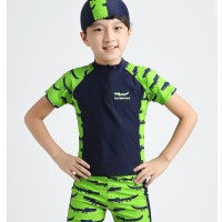 Baju Renang Anak Crocodile Setelan Renang Unik Lucu Swimwear Import