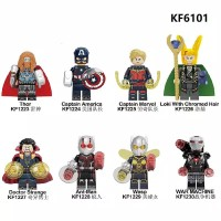 8PC lego kw Marvel The Avengers Captain Marvel/Doctor Strange/ANT-MAN