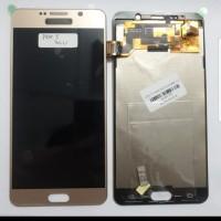 Samsung Note 5 Note5 LCD 1 Set 1Set Original Bisa Kontras Gold Emas