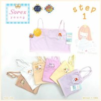 Miniset / Pakaian Dalam Anak Perempuan Tali Kecil Step 1 Sorex Y1006