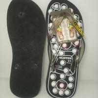 Sandal refleksi kaki, sandal jepit refleksi, sandal karet