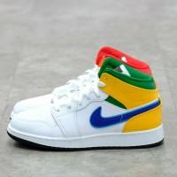 Nike Air Jordan 1 Mid Alternate Multicolor 100% Authentic