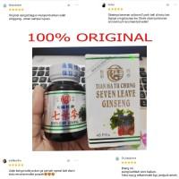 SEVEN LEAVE GINSENG obat rematik dan asam urat herbal manjur