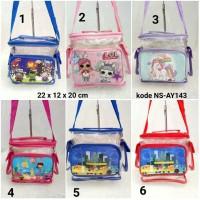Tas selempang anak / sling bag - unicorn (NSDH)