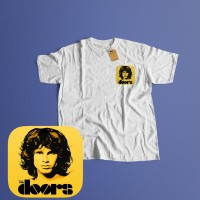 K/127 Kaos Band The Doors - Putih, S