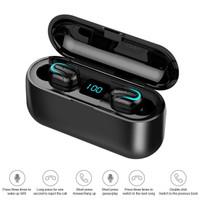 TWS HBQ Q32 Earphones Bluetooth 5.0+EDR Bass Stereo IPX5 Anti Air