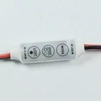 Modul Led Dimmer Mini Controller Kedip Blitz Strobo Mode Speed 5-24V